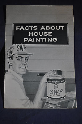 1958 Sherwin Williams Facts About House Painting