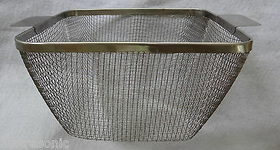 """ULTRASONIC WIRE MESH CLEANING BASKET 11 x 8-3/4 x 6.75"""" SS CP28M+2"""