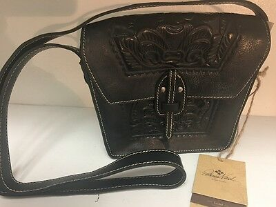 Patricia Nash Western Style Black Leather  Purse New With Tag