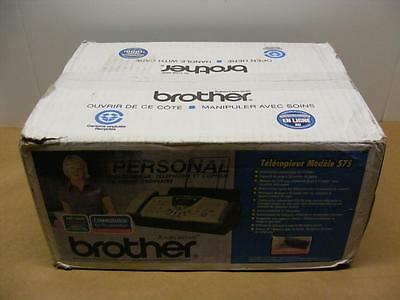 NEW Brother FAX-575 Plain Paper Thermal Fax, Phone, Copier