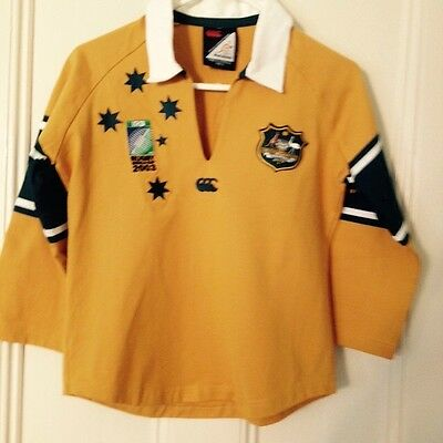 Wallabies ladies size 12 jersey - Rugby World Cup 2003