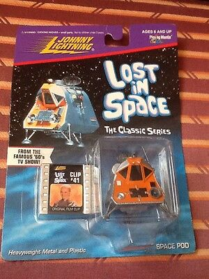 Space Pod, Lost In Space #41 - Johnny Lightning RARE! DIECAST COLLECTIBLE MODEL