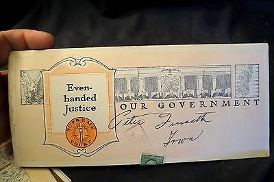 1921 Our Government Even Handed Justice Supreme Court Advertising Brochure