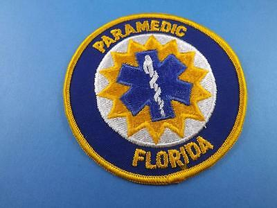 Florida Paramedic Patch Badge  Collector