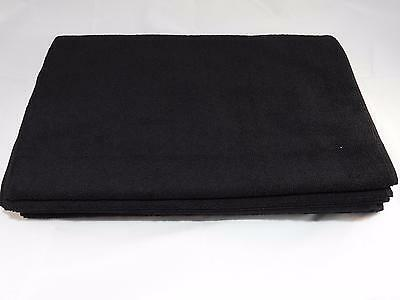 12 Microfiber salon hairdressing towels bleach color proof black fast drying