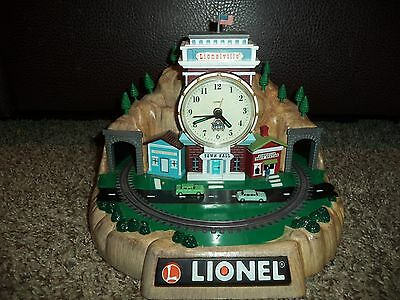 Lionel 100th Anniversary Train Alarm Clock *FOR PARTS* Limited *Missing train