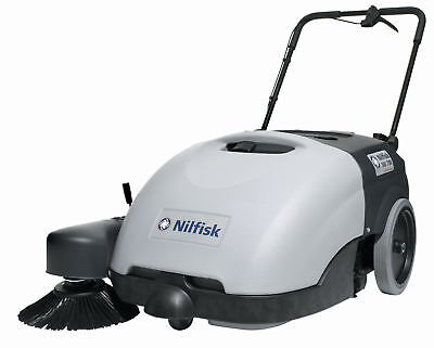 Nilfisk SW750 Battery powered Walk Behind Sweeper,Ideal for noise sensitive area