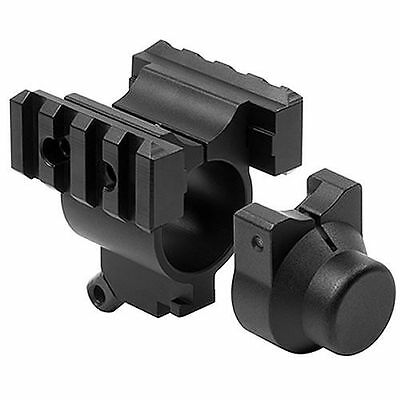 "1"" Tube Mount with Rails Sling Stud & Bayonet Mount For Mossberg 500 12g shotgun"