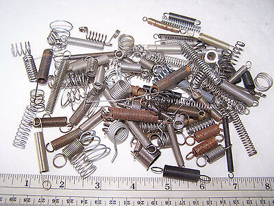 Miscellaneous Small Metal Springs Lot of 100
