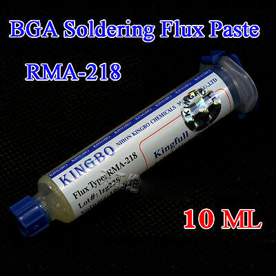 1Pcs 10CC KINGBO Soldering Flux Paste RMA-218 Solder BGA Welding Grease