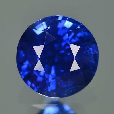 GRS Certified 4.31 cts 100%Natural Nice Vivid Royal Blue Color Ceylon Sapphire