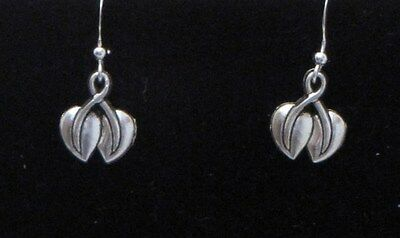 Double Heart Dangling Earrings ~ Great for Valentine's Day!!..