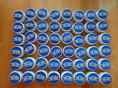 Lot of 48 New York Seltzer Bottle Caps - Re Release