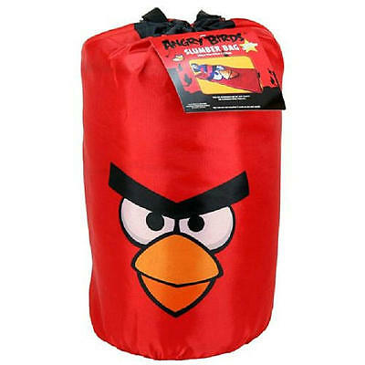 Angry Bird Slumber Sleeping Bag Red Bird 30in x 54in Rovio NWT
