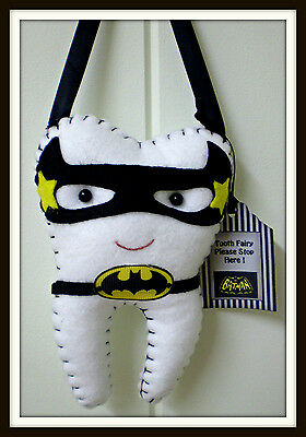 Tooth Fairy Pillow -  **Lost tooth goes in back pocket** Handmade**