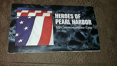 Heroes of Pearl Harbor $10 commemorative coin