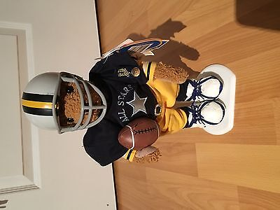 BNWT Brass Button Football Blitz Sports Teddy Bear