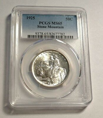 1925 Stone Mountain Half Dollar PCGS MS65 GEM