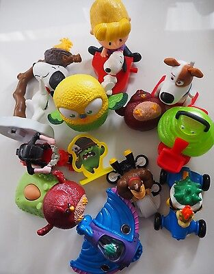 Happy Meal Toys Mixed Snoopy Angry Birds Secret Life Of Pets Mario McDonald's