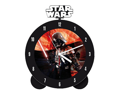 Star Wars Darth Vader Topper Alarm Clock brand New Dark Knight