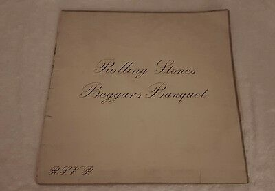 Rare Rolling Stones( Beggars Banquet)and The Who (Who's next ) vinyl records