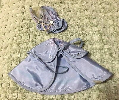 Betsy McCall Doll American Character Two Piece Cape And Bonnet 1950's