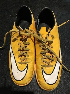 Inside Soccer Shoes - Unwanted -used - Size US 8.5 - Nike Mercurial