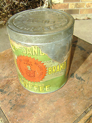 Collectible Chase & Sanbrorn Antique Coffee Can