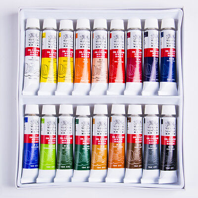 Winsor Newton oil Art paints painting Acrylic Tube 12/18 PCS colours 12ml/pie