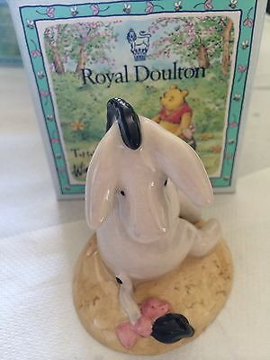"""Royal Doulton""""Eeyore's Tail"""" WP7 Winnie the Pooh boxed new"""