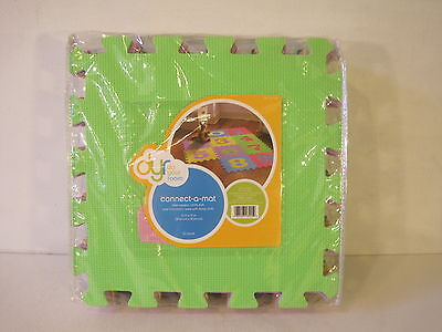 10pc Kids Puzzle Floor Mats DYR Play Do Your Room Baby Seamed Rug 12x12
