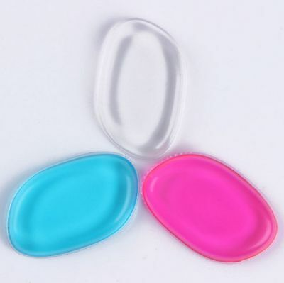 Silicone Gel Make Up Sponge Foundation Beauty Blender Cosmetic Puff Applicator