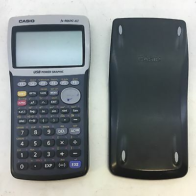 Casio fx-9860G AU Graphic Calculator - Fully Functional