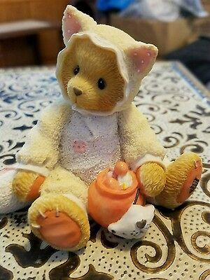 Cherished Teddies Tabitha You're The Cat's Meow #176257 by Enesco