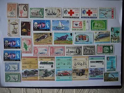 ASSORTMENT OF ISLANDS STAMPS a