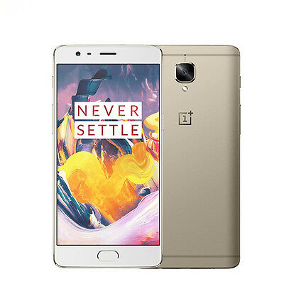 """Oneplus one plus 3T Quad Core Android 5.5"""" 6GB+64GB 16.0MP Mobile Smartphone"""