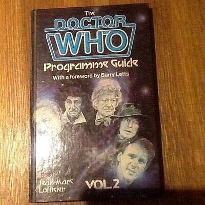 Doctor Who hardback; The Doctor Who Programme Guide Volume 2