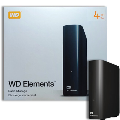 Hard Disk Esterno 3,5 Usb 3.0 4000Gb 4Tb Western Digital Elements