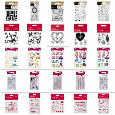 STAMP CLEARANCE! Clear Photopolymer + Rubber Stamp Sets - WIDE RANGE!