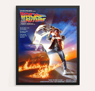 Back to the Future Movie Poster Print Classic Movie Poster