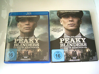 Blu ray - Peaky Blinders Staffel 1 & 2 Gangs of Birmingham - Pappschuber