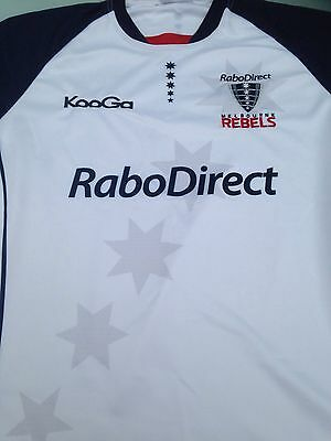 """""""NEW"""" Melbourne Rebels Kooga Men's Jersey Size XL (with tags) RRP $145"""