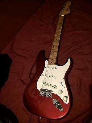 Fender Squier brand name Electric Guitar in good used condition