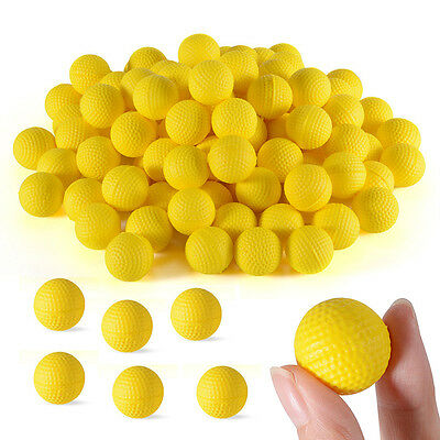 100pcs Toy Compatible Balls 100 Rounds For Nerf Rival Refill Bullet Party Game