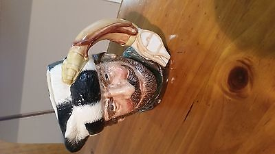 Royal Doulton Toby Jug. The Trapper.