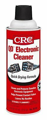 Dry Electronic Cleaner  Prevent Contact Failure Plastic Safe Supply Base 11 Oz