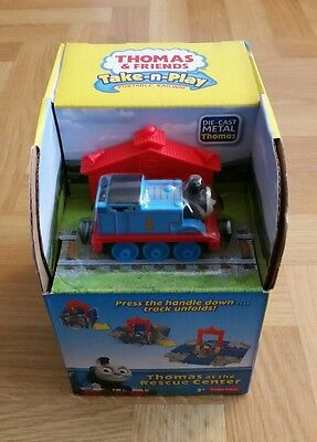 Thomas And Friends Take N Play Thomas  At The Rescue Centre / New