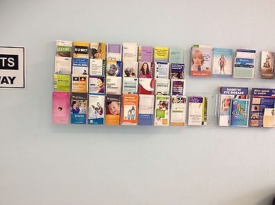 Wall Mounted Pamphlet Holders