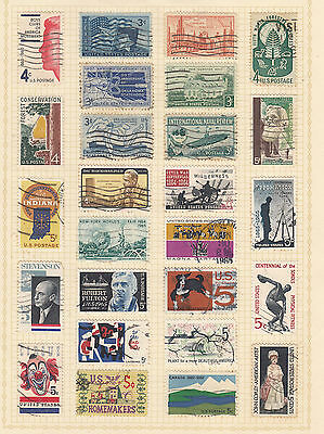 UNITED STATES On Old  Album page USED