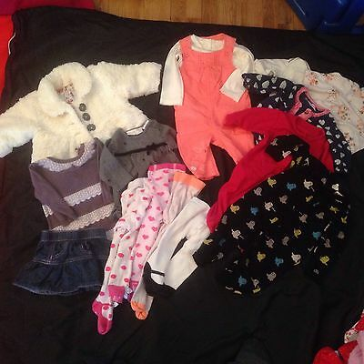 baby girl clothes 0-3 months Bundle New & Used